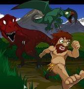 Dino Panic: Adventures of Barog and Tora