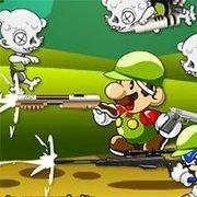 Mario Sonic Zombie Kill