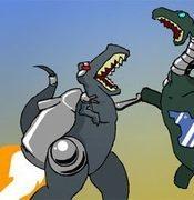 Robot Dinosaurs Shoot Lazer Beams