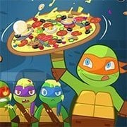 TMNT – Pizza Like a Turtle Do