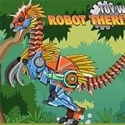 Toy War Robot Therizinosaurus