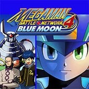 Mega Man Battle Network 4 Blue Moon