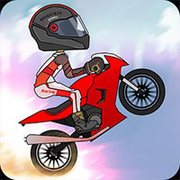 Up Hill Motocross Race