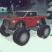 3D Monster Trucks: IcyRoads