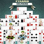 Pyramid Solitaire Silver