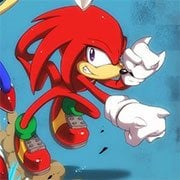 Knuckles the Echidna in Sonic