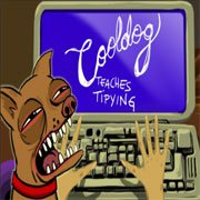 Cooldog Teaches Typing