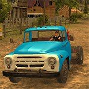 Car Driver ZIL 130