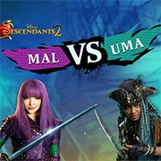 Mal VS Uma – Descendants 2