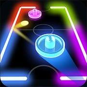 Glow Hockey HD