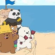 Sandcastle Battle! We Bare Bears