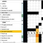 Easy Crossword