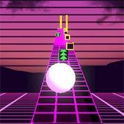 Neon Ball Run