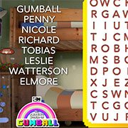 Word Search with Gumball
