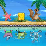 Land HO! SpongeBob