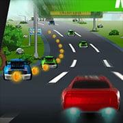 Race Car Rush: Hot Wheels