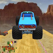 Monster Truck Impossible Stunt Track